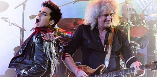 Queen: Kapela Freddieho Mercuryho se vypraví do Evropy, doprovodí ji gay zpěvák Adam Lambert
