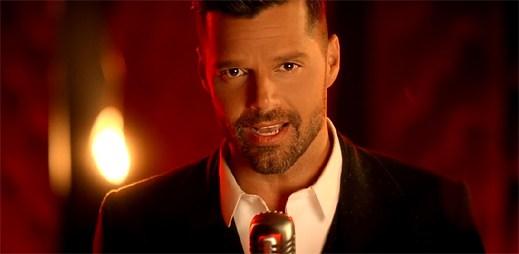 Ricky Martin se stal mužem mnoha tváří v klipu Adiós