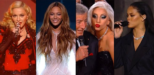 17 nejlepších vystoupení na Grammy Awards 2015