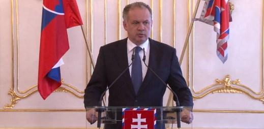 Slovenský prezident Andrej Kiska: Musíme být tolerantní k menšinám!