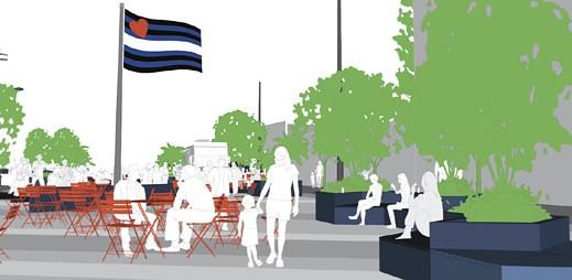 V San Franciscu bude vybudován gay park kožeňáků Eagle Plaza