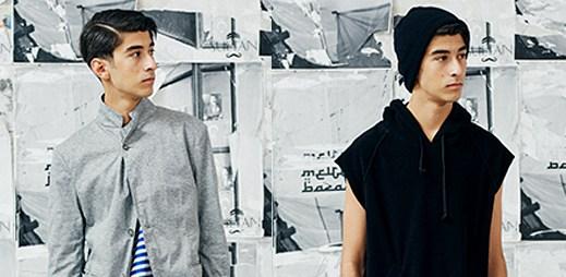 Turecká inspirace v lookbooku módní značky nonnative