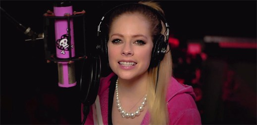 Avril Lavigne klipem Fly podporuje Special Olympics pro postižené