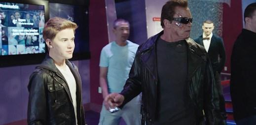 Arnold Schwarzenegger vyděsil své fanoušky v muzeu voskových figurín