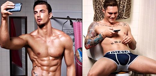 Sexy draví borci v selfie kampani Hero Fit značky Diesel