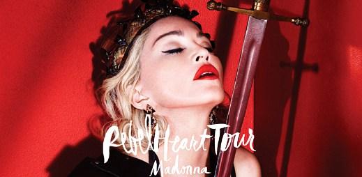 Madonna: 28 fotek z nadupaného turné Rebel Heart Tour, které se nezadržitelně blíží do Prahy