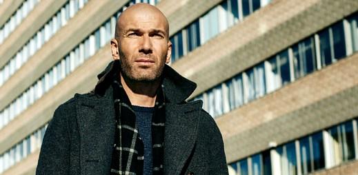 Jeden z nejlepších fotbalistů historie Zinédine Zidane v nové kampani Mango