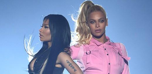 Kdo je lepší? Taneční boj mezi Nicki Minaj a Beyoncé. Předvedly Feeling Myself na koncertu Tidal X