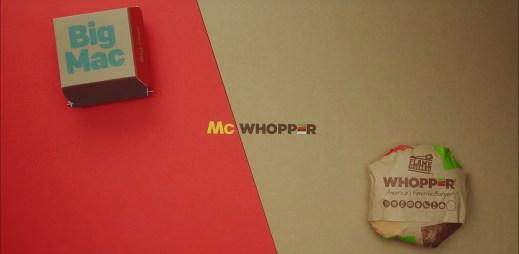 Burger King chtěl s McDonald's spojit síly a udělat společný McWhopper