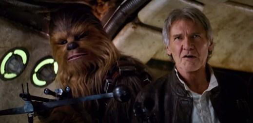 Film Star Wars: Síla se probouzí a HanSolo se Žvejkem se vrací!