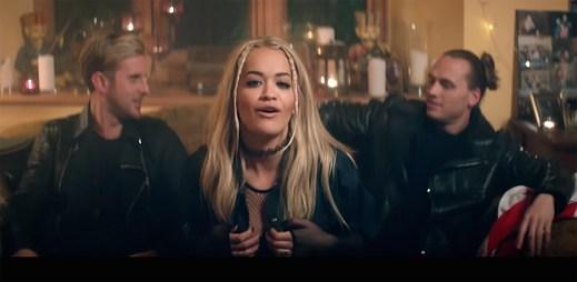 Sigma a Rita Ora oslavují život soukromou večeří v klipu Coming Home