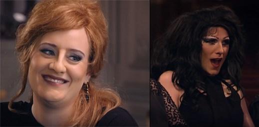 Namaskovaná Adele v roli Jenny překvapí své imitátory na jevišti