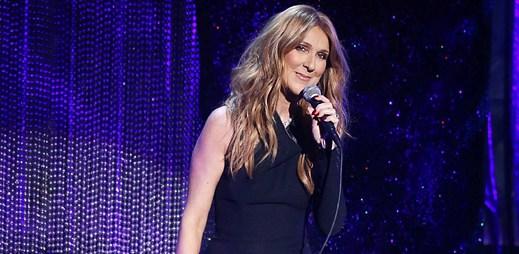 Poslechněte si Céline Dion, jak zpívá hit Hello od Adele