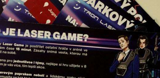 Soutěž: Kolik je poukazů na obrázku? Tipujte a vyhrajte vstupenku zdarma na Laser Game!