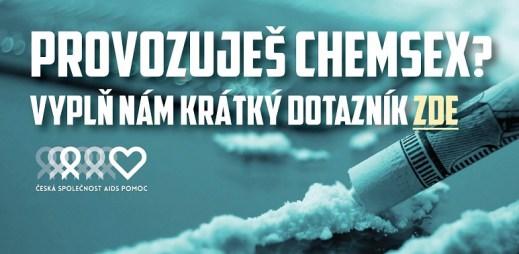 Dotazník: ChemSex v Česku