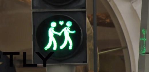Gay semafory v Utrechtu