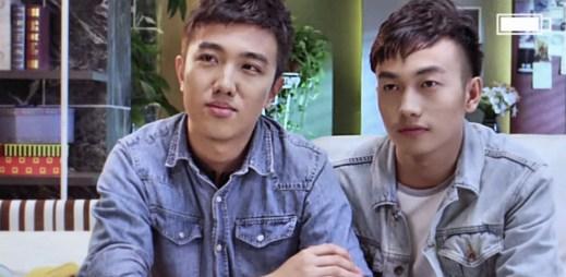 V čínském gay seriálu Rainbow Family je hlavní postavou mladý gay