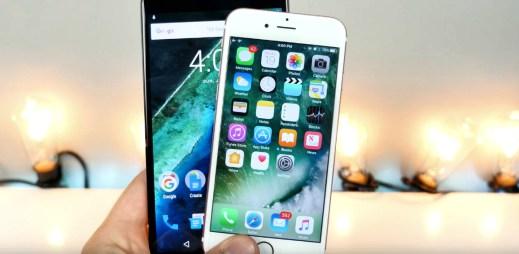 Kdo s koho: Bude lepší Google Android 7.0 N nebo iOS 10 od Applu?
