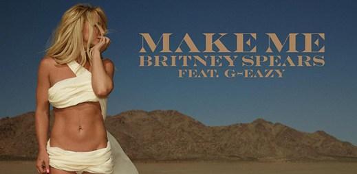 Britney Spears vydala povedený pilotní singl Make Me z nového alba