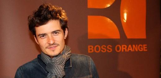 Orlando Bloom se stal tváří parfému Boss Orange Man