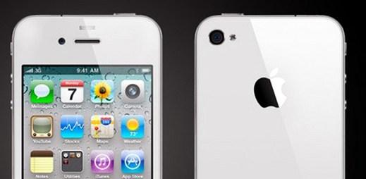 Bílý iPhone 4 už i v Česku