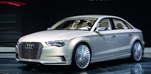 Luxusní Audi A3 e-tron