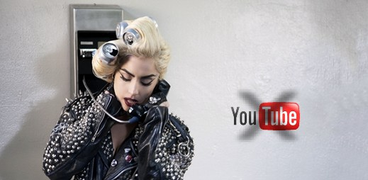 YouTube zablokoval účet Lady Gaga