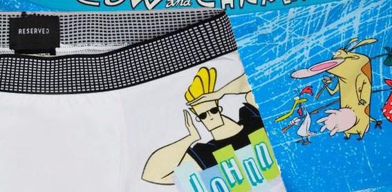 Reserved: Limitovaná edice spodního prádla Johnny Bravo