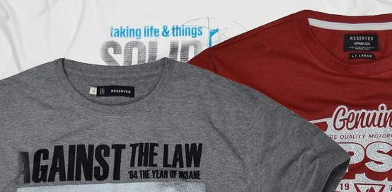Reserved: zbrusu nová kolekce triček