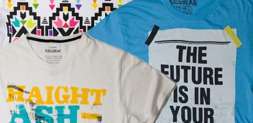 Pull & Bear: stylová trička z nové kolekce