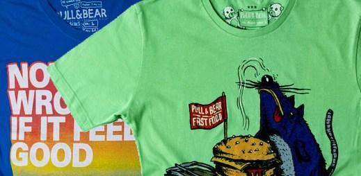 Pull & Bear: nová trička, 2. část