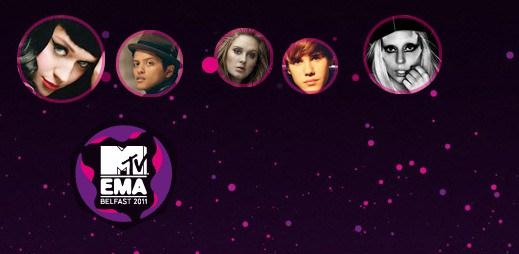 MTV EMA: Komu dáte hlas? Rytmus, Ben Cristovao nebo Debbi