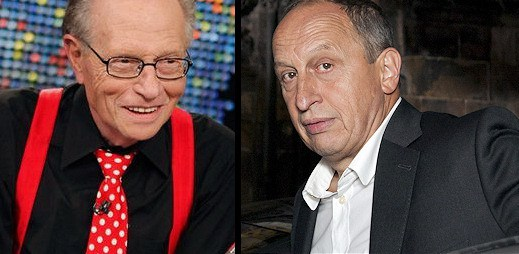Larry King v Show Jana Krause a 13. Komnata Jirky Hromady