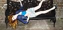 Zpěvačka Nicola Roberts vystoupila v londýnském G-A-Y klubu
