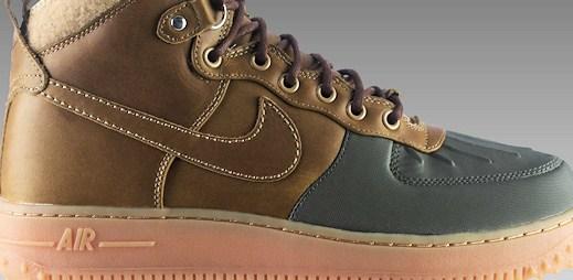 Nike představil speciální zimní kolekci bot Air Force One