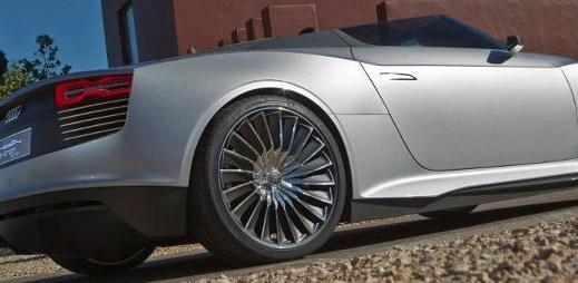 Luxusní krasavec Audi e-tron Spyder za 3 miliony korun