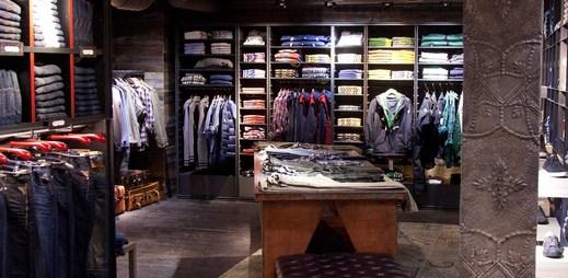 Jak vypadá luxusní obchod Replay v Londýně?