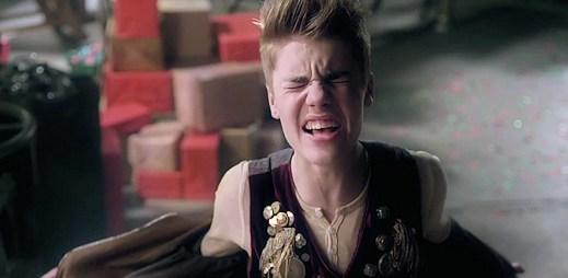 Justin Bieber přijel do města s dalším vánočním videoklipem