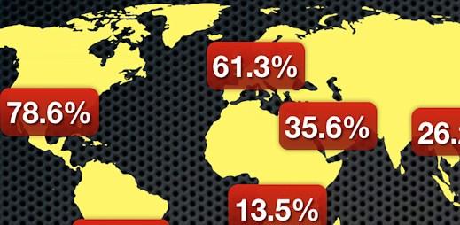 Infografika: Každou sekundu přibude 8 nových uživatelů internetu
