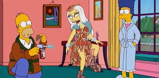Simpsonovi: Žlutá Lady Gaga zazpívá a ovládne Springfield (video)