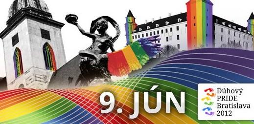 Půjdete na slovenský gay průvod Dúhový PRIDE Bratislava?
