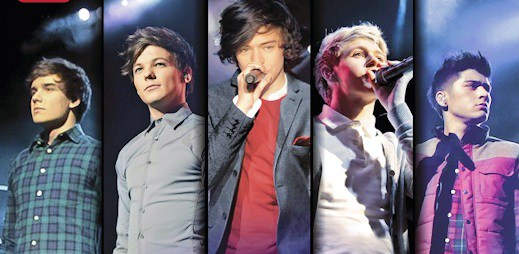 Pusťte si One Direction naživo na DVD Up All Night - The Live Tour