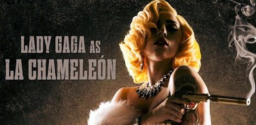 Lady Gaga natáčí film Machete Kills. Zahraje si La Chameleón