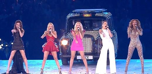 Spice Girls opět spolu! Vystoupily na Hrách v Londýně