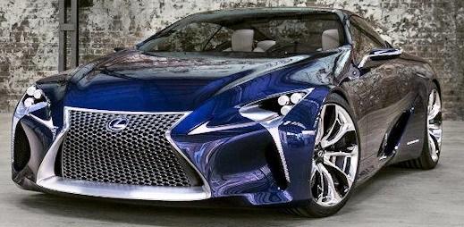S tímto Lexusem LF-LC Blue Hybrid se za vámi otočí každý gay