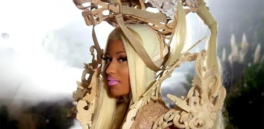 Nicki Minaj svádí svého prince v pohádkovém Va Va Voom
