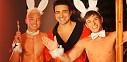 Sexy kostýmy na gay Halloweenské party ve žhavém videu