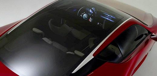 Luxus už od pohledu, aneb červený Lexus LF-LC