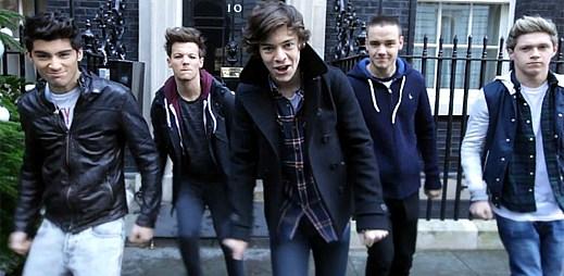 One Direction bojují songem One Way or Another proti hladomoru