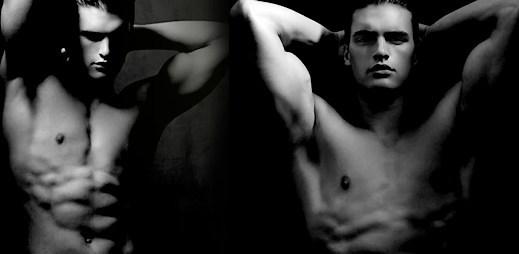 Calvin Klein: Pánská vůně Dark Obsession s krásným modelem